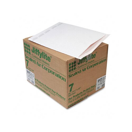 Sealed Air Corporation Jiffylite Self-Seal Mailer, Side Seam, #7, 50/Carton