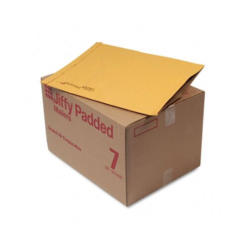 Sealed Air Corporation Jiffy Padded Mailer, Side Seam, #7, 50/Carton