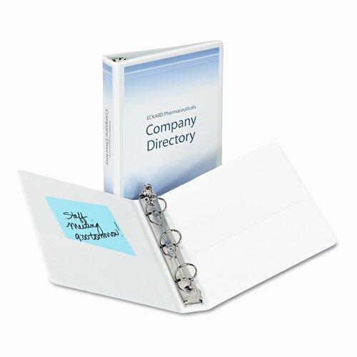 "Avery Consumer Products Economy Vinyl Round Ring View Binder, 1"" Capacity"