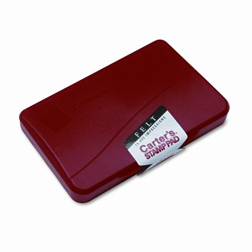 Avery Consumer Products Carter's Felt Stamp Pad, 4 1/4 X 2 3/4