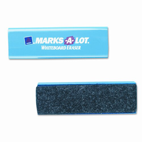 Avery Consumer Products Marks-A-Lot Dry Erase Board Eraser, Felt