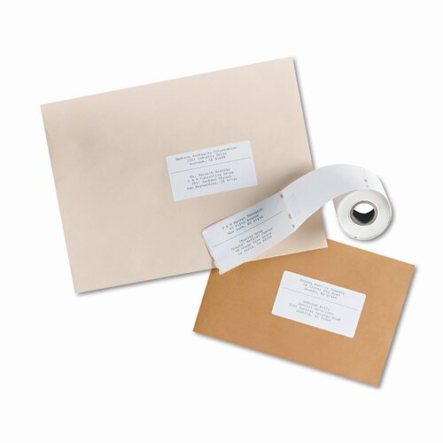 Avery Consumer Products Shipping Labels, 140/Roll, 1 Roll/Box