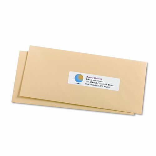 Avery Consumer Products Easy Peel Inkjet Address Labels, 500/Pack