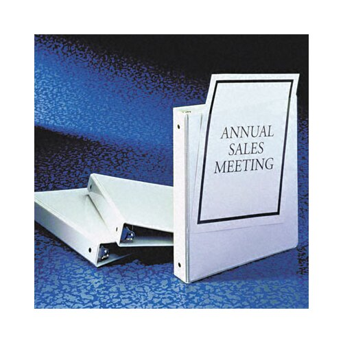 Avery Consumer Products Economy Reference View Binder, 1/2in Capacity