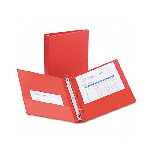 """Avery Consumer Products Economy Round Ring Reference Binder, 1-1/2"""" Capacity"""