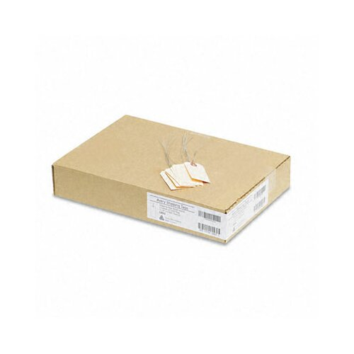 Avery Consumer Products Paper/Double Wire Shipping Tags, 3 1/4 X 1 5/8 (1,000/Box)