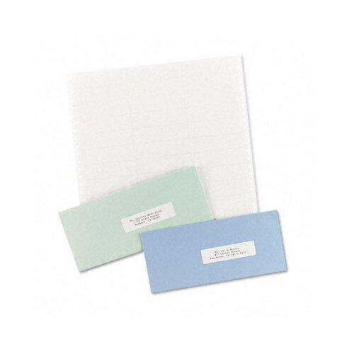 "Avery Consumer Products Dot Matrix Printer 3 Across Address Labels, 3.5"" Wide, 15000/Box"