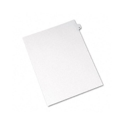 Avery Consumer Products Allstate-Style Legal Side Tab Divider, Title: 28, Letter, 25/Pack