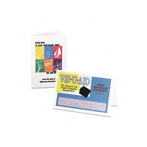 Avery Consumer Products Inkjet-Compatible Greeting Cards with Envelopes, 5-1/2 x 8-1/2, 30 per Box