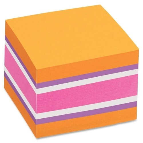 Avery Consumer Products Removable Adhesive Sticky Notes Cube (Pack of 3)