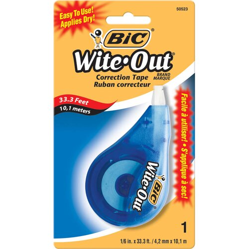 Bic Corporation Wite-Out Correction Tape