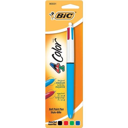 Bic Corporation Medium Point 4 Color Pen