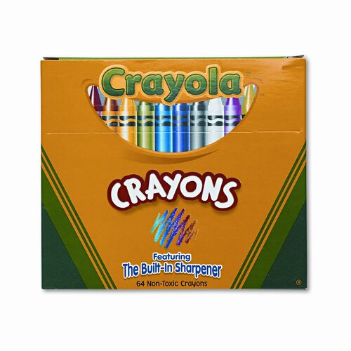 Crayola LLC Classic Color Pack Crayons (64/Box)