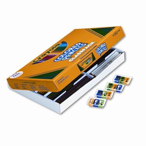 Crayola LLC 3.3 Mm Woodcase Pencil Classpack (12/Box)