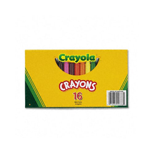 Crayola LLC Large Crayons (16/Box)