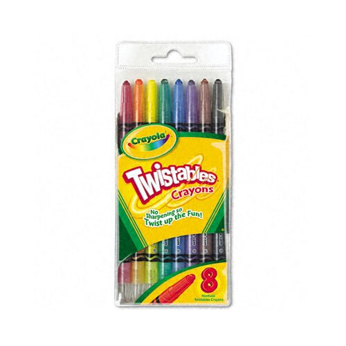 Crayola LLC Twistable Crayons (8/Box)