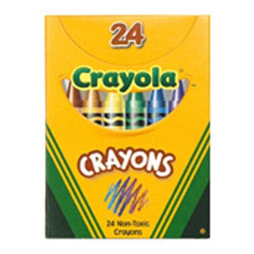 Crayola LLC Crayola Regular Size Crayon 24pk