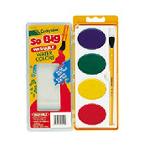 Crayola LLC So Big Water Color Refill 4 Colors