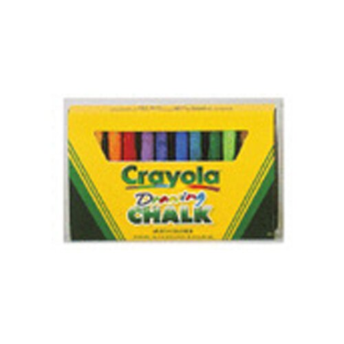 Crayola LLC Crayola Colored Drawing Chalk Asst