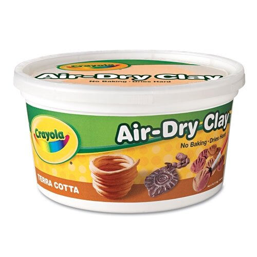 Crayola LLC Air-Dry Clay, 2 1/2 Lbs