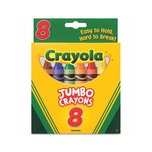 Crayola LLC So Big Large Crayons (8/Box)