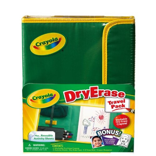 Crayola LLC Dry Erase Travel Pack