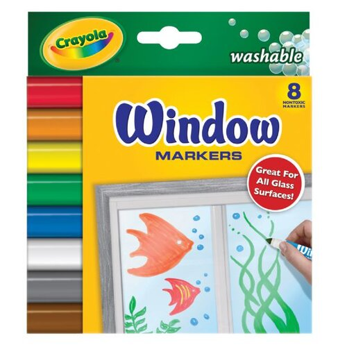 Crayola LLC Washable Window Markers