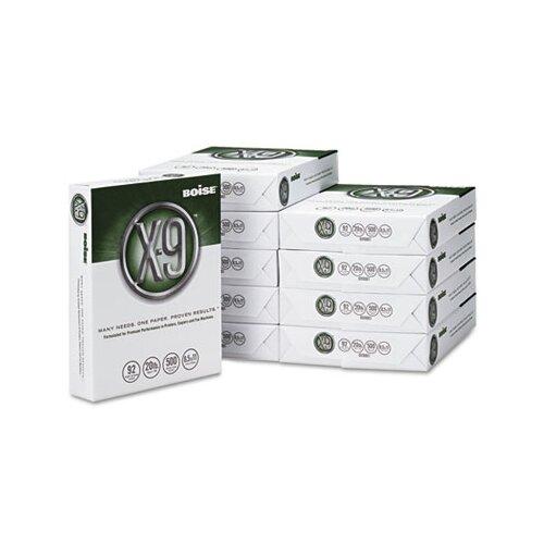 Boise® X-9 Copy Paper, 92 Brightness, 20 lb, 8-1/2 X 11, 5000 Sheets/Carton