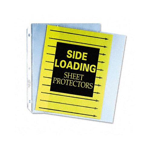C-Line Products, Inc. Side Loading Polypropylene Sheet Protector (50/Box)