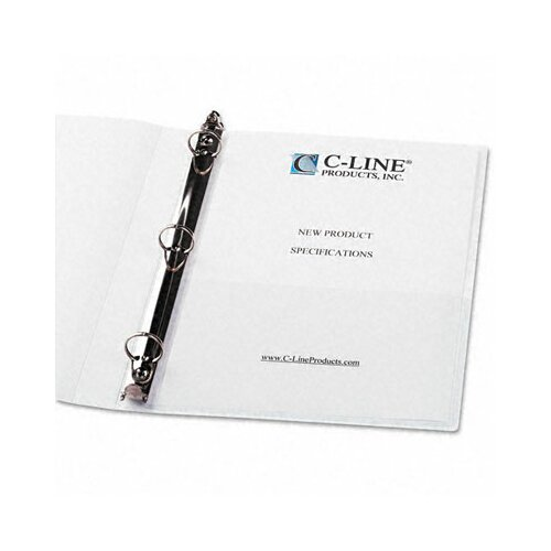 C-Line Products, Inc. Peel & Stick Add-On Filing Pockets (10/Pack)