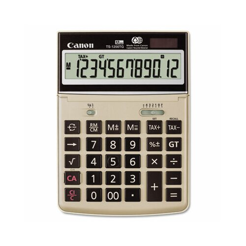 Canon 12-Digit LCD Desktop Calculator
