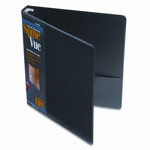 Cardinal Brands, Inc Spinevue Round Ring View Binder