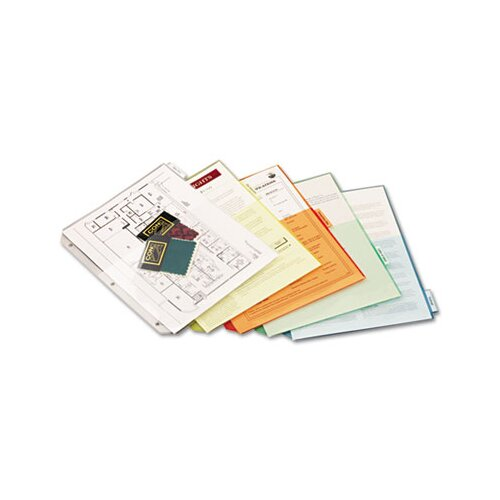 Cardinal Brands, Inc Ring Binder Divider Pockets with Index Tabs (5/Pack)