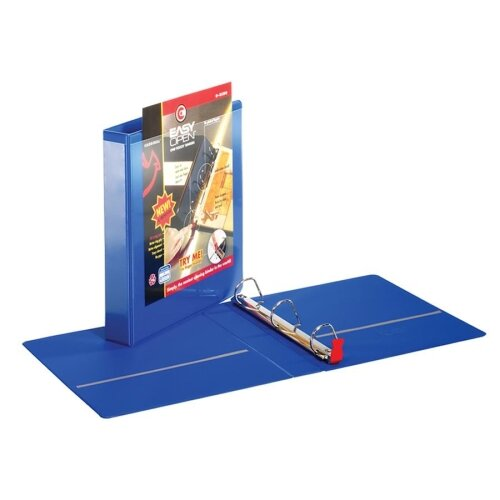 "Cardinal Brands, Inc Locking Slant-D Ring Binders w/ Lifters, w/ Sheet Lifter, 1-1/2"" Cap., BE"