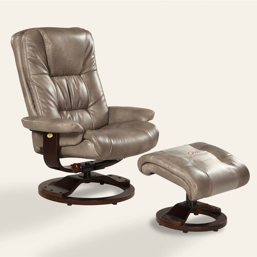 Oslo Swivel Recliner and Ottoman