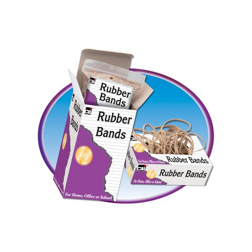 Charles Leonard Co. Rubber Bands 3 X 1/32 X 1/8 1/4 lb