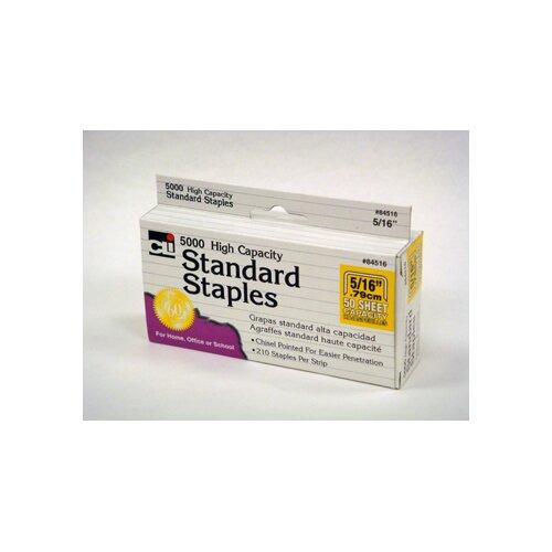 Charles Leonard Co. High Capacity Standard Staples 5000