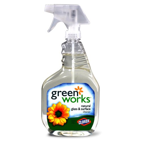Clorox Company 32 Oz Green Works Glass Cleaner