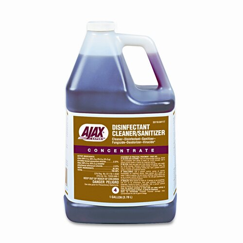 Colgate Palmolive Ajax Expert Disinfectant Cleaner/Sanitizer, 1 Gal. Bottle