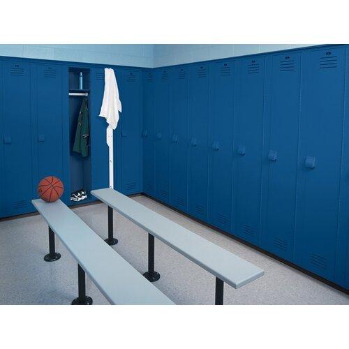 Lenox Plastic Lockers Lenox Pedestal Bench - 5 Ft (3 Pedestals)
