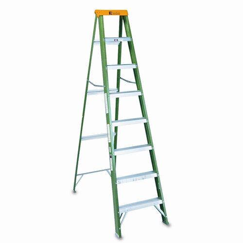DAVIDSON LADDER, INC. 8' Louisville #592 Folding Step Ladder