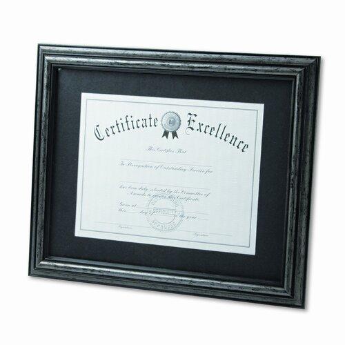 """DAX® Desk/Wall Document Wood Frame, 11"""" x 14"""""""