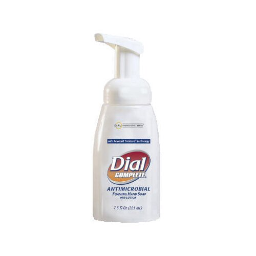 Dial® Complete® Antimicrobial Healthcare Foaming Hand Soap Tabletop Pump - 7.5-oz.