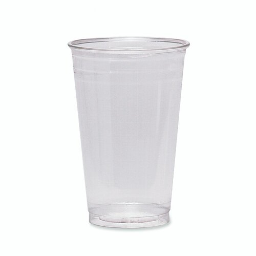 Dixie Cold Drink Cups, 16 oz., Clear Plastic