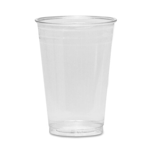 Dixie Cold Drink Cups, 12 oz., Clear Plastic