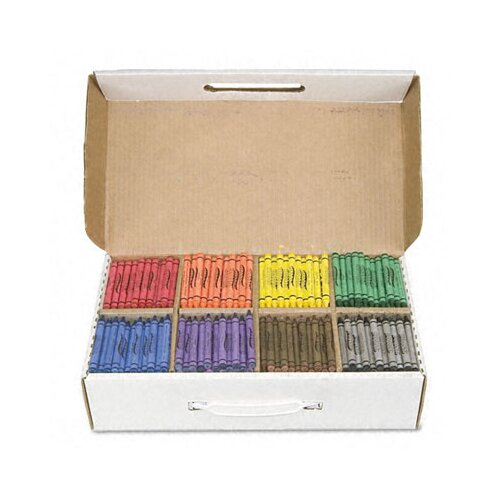 Dixon® Prang Crayons Made with Soy, 800/Carton