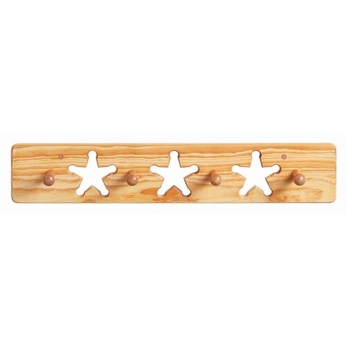 Star Peg Coat Rack