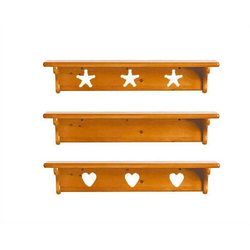Little Colorado Wall Shelf without Pegs- Star
