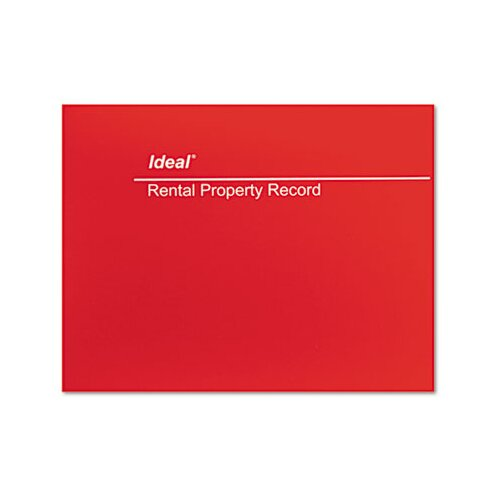 Dome Publishing Company, Inc. Ideal Rental Property Record Book, 60-Page Wirebound Book
