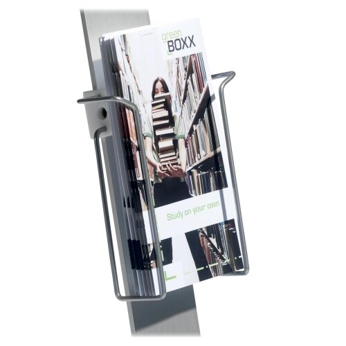 "Durable Office Products Corp. Duo Sign Stand, Literature Dispenser, 9'x1-3/8""x8-3/4"", SR"